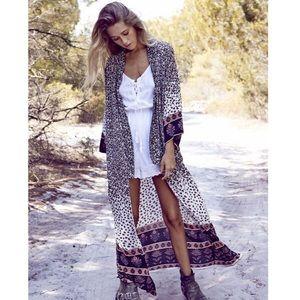 Augusta the Label, Full kimono in natural desert